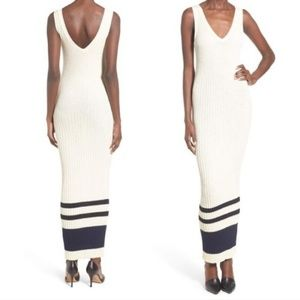 New JAMES PERSE High Gauge Ribbed Knit Maxi Dress